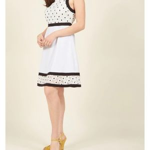 ModCloth Bliss in Bloom A-Line Dress